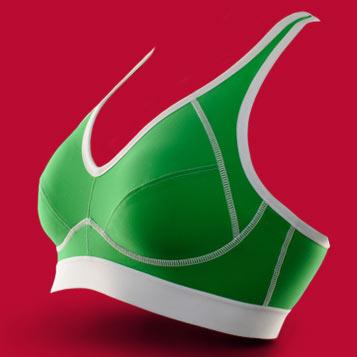 Brassière de sport FITme 2.0 Vert