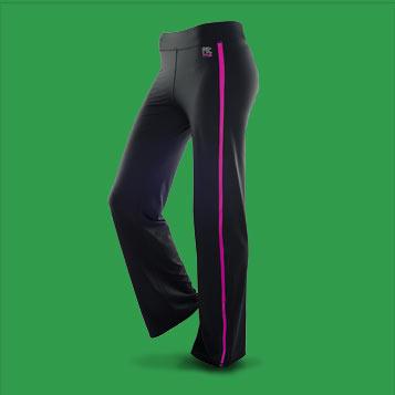 Pantalon de sport FITme filet Fushia