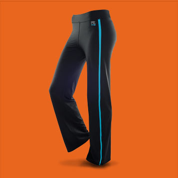 Pantalon de sport FITme filet Turquoise
